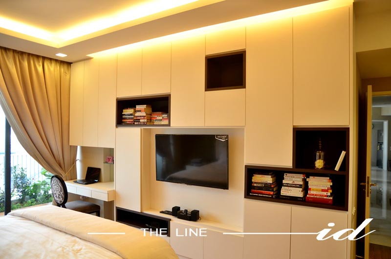 The Line ID - The Interlace Interior Design Concept